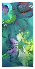 Abstract Flower 2 Hand Towel