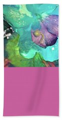 Abstract Flower 3 Hand Towel