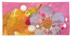 Abstract Flower 4 Hand Towel