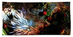 Abstract Flowers Of Light Series #5 Bath Towel