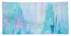 Abstract Frost 1 Bath Towel