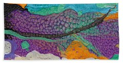 Abstract Garden Of Thoughts Bath Towel