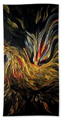 Abstract Gayu Bath Towel