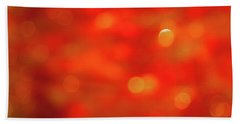 Abstract Honey Cakes Bath Towel