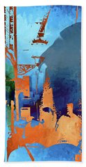 Abstract  Images Of Urban Landscape Series #1 Bath Towel