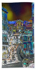 Abstract  Images Of Urban Landscape Series #11 Bath Towel