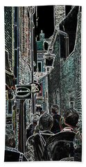 Abstract  Images Of Urban Landscape Series #12b Bath Towel