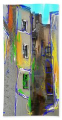 Abstract  Images Of Urban Landscape Series #13 Hand Towel