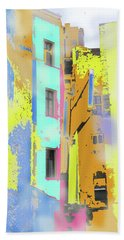 Abstract  Images Of Urban Landscape Series #2 Bath Towel