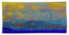 Abstract Landscape Expressions Bath Towel