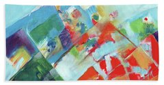 Abstract Landscape1 Hand Towel