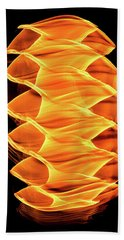 Abstract Light Number 2 Hand Towel