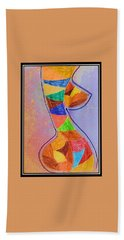 Abstract Love Bath Towel