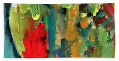 Abstract Love By Lisa Kaiser Hand Towel