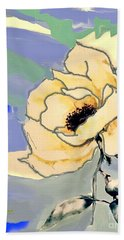 Abstract Mod Rose Hand Towel
