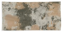 Abstract Mud Puddle Hand Towel