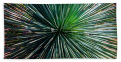 Abstract Nature Desert Cactus Photo 207 Blue Green Bath Towel