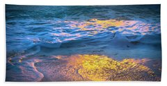 Abstract Of Beach Bath Towel