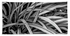 Abstract Of Leaves ... Bath Towel