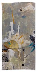 Abstract Painting Lifes A Dance Hand Towel