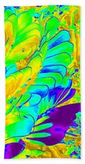 Bath Towel featuring the photograph Abstract Plant by Karen J Shine
