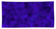 Hand Towel featuring the photograph Abstract Purple 7 by Clare Bambers