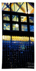 Abstract Reflections Digital Art #5 Bath Towel