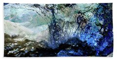 Abstract Runoff Bath Towel