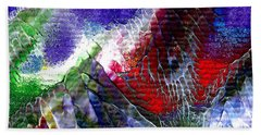 Abstract Series 0615a-3 Hand Towel