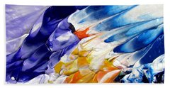 Abstract Series 0615a-4-l1 Bath Towel