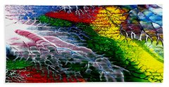Abstract Series 0615a Bath Towel