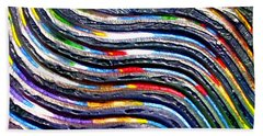Abstract Series 0615b1 Bath Towel
