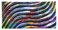 Abstract Series 0615c1 Bath Towel