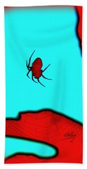 Abstract Spider Hand Towel
