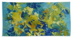 Abstract Spring Hand Towel