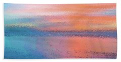 Abstract Sunset Hand Towel