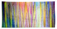 Abstract Watercolor A2 1216 Hand Towel