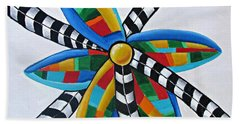 Abstract Windmill  Hand Towel