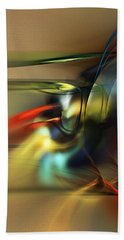 Abstraction 022023 Hand Towel by David Lane