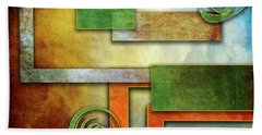 Abstraction 2 Hand Towel