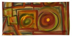 Abstraction Collect 4 Bath Towel