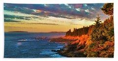 Acadia At Dawn Hand Towel