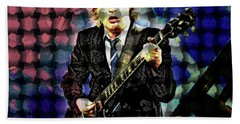 Acdc S Angus Young Hand Towel