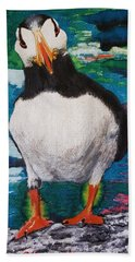 Ace   Puffin Huff Hand Towel