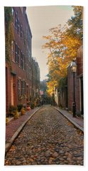 Acorn St. 3 Bath Towel by Joann Vitali