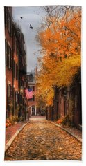 Acorn St. Bath Towel by Joann Vitali