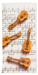 Acoustic Quartet Bath Towel