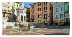 Hand Towel featuring the photograph Acqui Terme...italy by Jennie Breeze