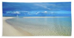 Adagio Alone In Ouvea, South Pacific Hand Towel