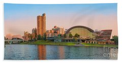 Adelaide Riverbank Panorama Bath Towel